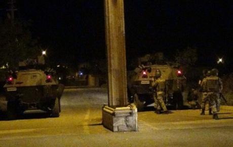 Nusaybin'nde PKK'lılar Tanker'i Yaktı Polis'le Çatıştı