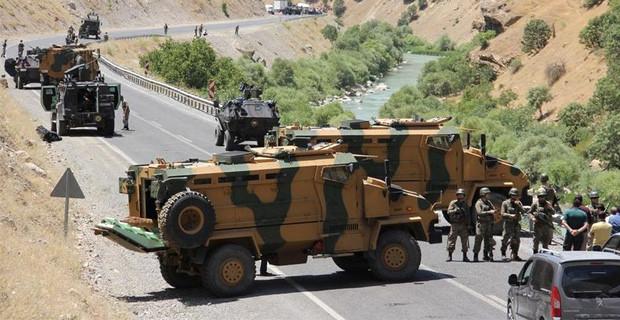 PKK'nın Mayınına Belediye Asfaltı