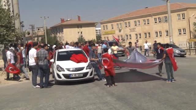 Mardin PKK'ya Tepki Yürüyüşü