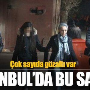 İstanbulda Teroristlere Şafak Operasyonu