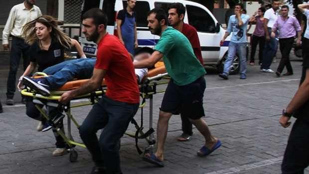 Diyarbakır'da Saldırı 4 Kişi Yaralandı