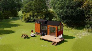 Doğa ile iç içe yaşamak için Gorgor House tiny house tam size göre bir ürün.